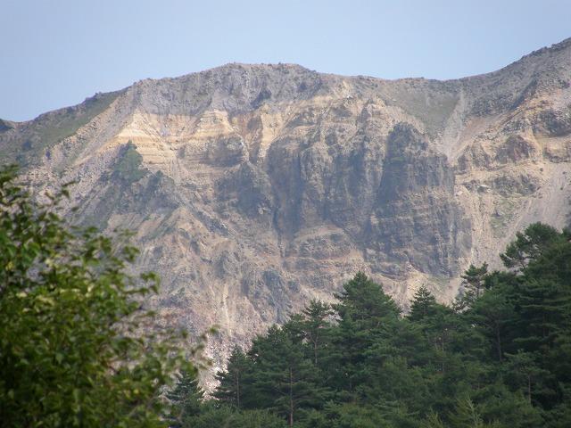磐梯山爆裂火口の絶壁 - 越後の ... : 書き込みカレンダー印刷 : カレンダー